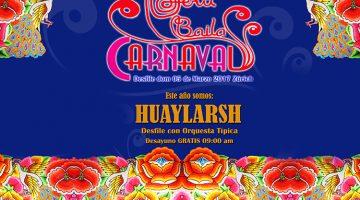 carnaval 2017 huaylarsh